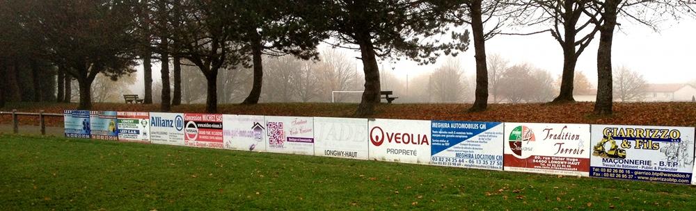 USBL panneaux sponsors